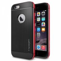 Чехол от SGP для iPhone 6 Case Neo Hybrid Metal (4.7) Red, Цена: 476 грн, Фото