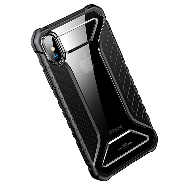 Чехол Baseus Michelin для Apple iPhone X/XS Black - Фото 1