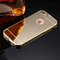 Чехол глянец Mirror Gold case for iPhone 6.6s & iPhone 7.7 plus / 8.8 plus