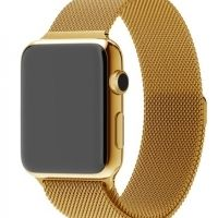 Ремешок Apple Watch 38/40/42/44mm with Milanese Loop (magnetic) Gold, Цена: 481 грн, Фото