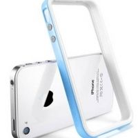 Бампер SGP Case Neo Hybrid 2S Snow Series Tender Blue for iPhone 4/4S, Цена: 286 грн, Фото