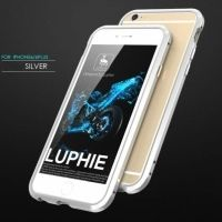 Бампер Luphie Ultra Luxury Silver for iPhone 6.6s, Цена: 377 грн, Фото