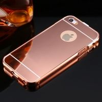 Чехол глянец Mirror Rose Gold case for iPhone 5.5s, Цена: 336 грн, Фото