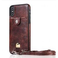 Чехол QinCoon для iPhone XR Brown, Цена: 603 грн, Фото