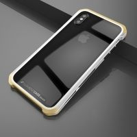Чехол Element Case Template Glass  For iPhone X/XS Silver-Gold, Цена: 678 грн, Фото