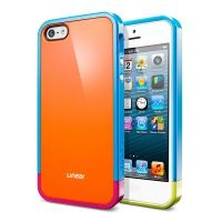 Чехол SGP Linear Pops Series Orange для iPhone 5, Цена: 255 грн, Фото
