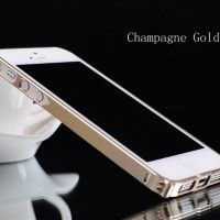Бампер Cross-Line Aluminum Ultrathin 0.7мм Champagne iPhone 5.5s оригинал, Цена: 380 грн, Фото