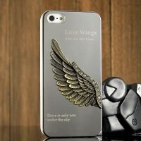 Harley Inspired Wing 3D Case Silver for iPhone 4.4S и для iPhone 5, Цена: 300 грн, Фото