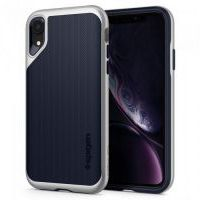 Чехол Spigen Neo Hybrid for iPhone XR - Satin Silver (064CS24880), Цена: 879 грн, Фото