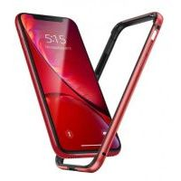 Бампер Silicone-Aluminium для iPhone 11 Red, Цена: 419 грн, Фото
