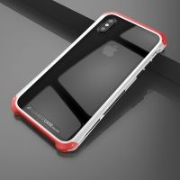 Чехол Element Case Template Glass  For iPhone X/XS Silver-Red, Цена: 678 грн, Фото