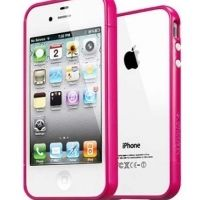 Бампер пластиковый SGP Case Linear EX Color Series Hotpink for iPhone 4/4s, Цена: 292 грн, Фото