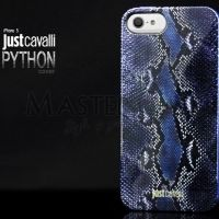 Justcavalli silicone iPhone 4.4s.5.5s case (python blue), Цена: 261 грн, Фото