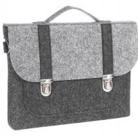 Сумка Gmakin Business Bag для MacBook Air 13/13.3 Pro 13 Black-Grey, Цена: 628 грн, Фото