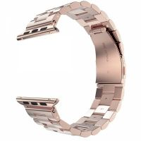 Браслет Steel Watch Band Rose Gold For Apple Watch 38/40/42/44mm, Цена: 712 грн, Фото