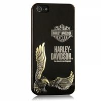 Harley Davidson 3D Case Black for iPhone 4.4s и для iPhone 5, Цена: 300 грн, Фото