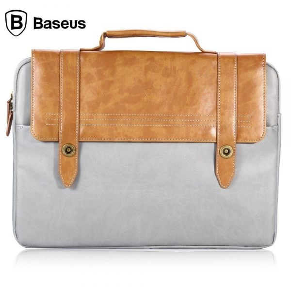 Сумка для MacBook от Baseus Series Drop Resistant Brown - Фото 1