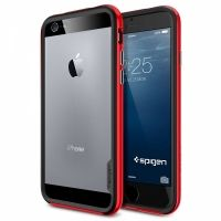Бампер Spigen Neo Hybrid EX Dante Red для iPhone 6 (4.7). iPhone 6 plus (5.5), Цена: 620 грн, Фото