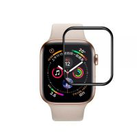 Защитное стекло 3D Tempered Glass Black для Apple Watch 44mm Series 4, Цена: 301 грн, Фото