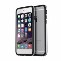 Бампер Araree Bumper case Black-Silver for iPhone 6 оригинал, Цена: 560 грн, Фото