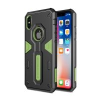 Чехол Nillkin Defender 4 Series Armor-border iPhone X/XS Green, Цена: 628 грн, Фото
