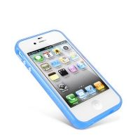 Бампер пластиковый SGP Case Linear EX Color Series blue for iPhone 4/4s, Цена: 292 грн, Фото