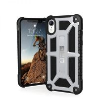 Чехол UAG Monarch Platinum для iPhone XR Silver, Цена: 603 грн, Фото