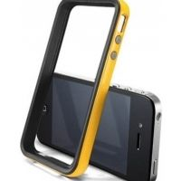 Бампер SGP Case Neo Hybrid 2S Vivid Series Reventon Yellow for iPhone 4/4S, Цена: 286 грн, Фото