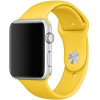 Ремешок Silicone Yellow Band for Apple Watch 38/40/42/44mm, Цена: 433 грн, Фото