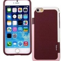 Чехол силиконовый Walnutt Back Cover for Apple iPhone 6 (Dark Maroon), Цена: 301 грн, Фото