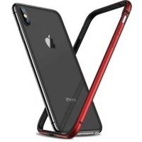 Бампер Silicone-Aluminium для iPhone X/Xs Red, Цена: 433 грн, Фото