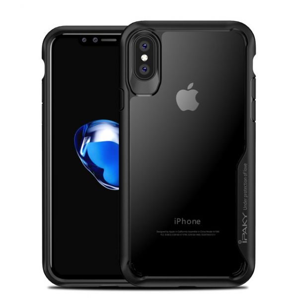 Чехол iPaky Black iPhone X/XS / iPhone 10 - Фото 1