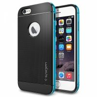 Чехол от SGP для iPhone 6 Case Neo Hybrid Metal (4.7) Blue, Цена: 498 грн, Фото