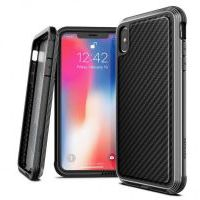 Чехол для iPhone XS Max Black Carbon Case Defense Lux, Цена: 979 грн, Фото