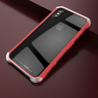 Чехол Element Case Template Glass  For iPhone X/XS Red-Silver, Цена: 678 грн, Фото