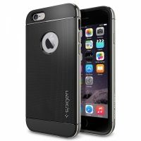 Чехол от SGP для iPhone 6 Case Neo Hybrid Metal (4.7) Grey, Цена: 476 грн, Фото