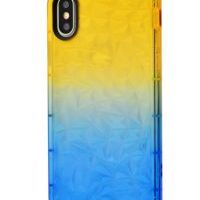 Чехол Gradient gelin case для iPhone X/Xs Yellow Blue, Цена: 326 грн, Фото