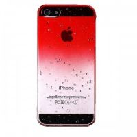 Water Droplets Plastic Hard Case for iPhone 5 (Red), Цена: 150 грн, Фото