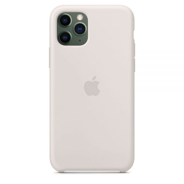 Силиконовый чехол Apple iPhone 11 Pro Silicone Case OEM Stone - Фото 1
