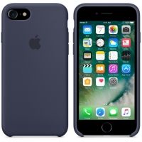 Силиконовый чехол Apple Silicone Case Midnight Blue для iPhone 7/8, Цена: 502 грн, Фото