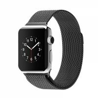 Ремешок Apple Watch 38/40/42/44mm with Milanese Loop (magnetic) Black, Цена: 481 грн, Фото