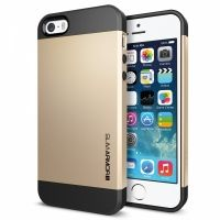 SGP Case Slim Armor Metal Series Satin Gold for iPhone 5.5s, Цена: 266 грн, Фото