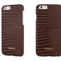 Кожаный чехол Bushbuck BARONAGE LIZARD Genuine Leather for iPhone 6 (Brown), Цена: 548 грн, Фото