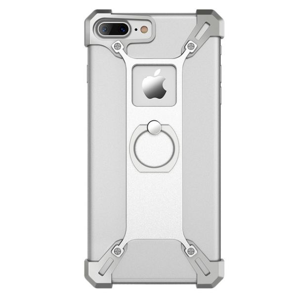 Бампер Nillkin Barde Silver for iPhone 7.7 plus/ 8.8 plus - Фото 1