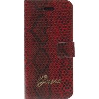Кожаный чехол Guess Flip Case Horizontal Snake for iPhone 5.5s - Red, Цена: 514 грн, Фото