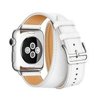 Ремешок для Apple Watch 38/40mm Hermes Double Tour White, Цена: 929 грн, Фото
