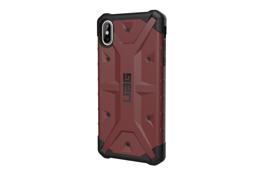 Чехол Urban Armor Gear (UAG) Navigator Case for iPhone XS Max Carmine - Фото 1