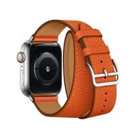 Ремешок для Apple Watch 42/44mm Hermes Double Tour Orange, Цена: 929 грн, Фото