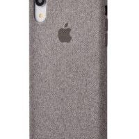Чехол Textile cover 360 Protect iPhone Xr Grey, Цена: 502 грн, Фото