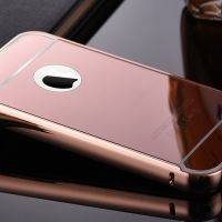 Чехол глянец Mirror Rose Gold case for iPhone 4.4s, Цена: 326 грн, Фото
